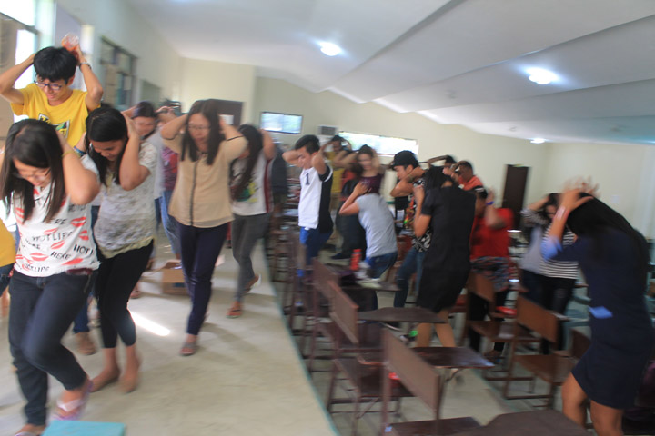 SPAMAST Joins the 2nd Quarter Nationwide Simultaneous Earthquake Drill